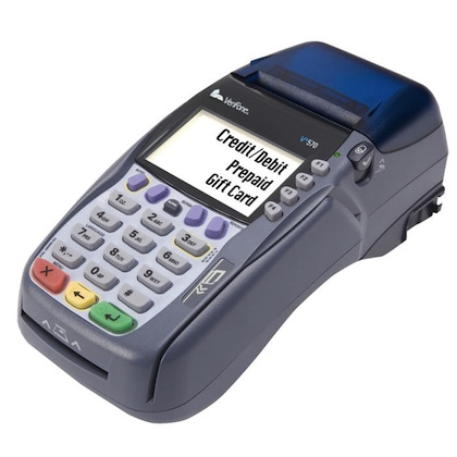 how to put paper in credit card machine